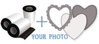 Heart Shape - 77:70 мм. :: Thin Fridge Magnets (0)