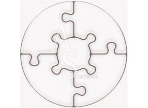 Copenhagen :: Magnetic Puzzles :: 5 Pieces