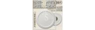 Round Circle shaped 63mm :: Ceramic souvenirs (1)