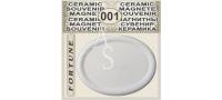 Elliptical Shape 68x53 mm :: Ceramic souvenirs (1)