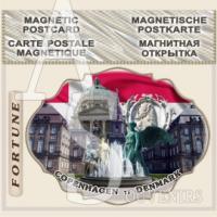 Copenhagen :: Stickers Flexible Magnets #01-3