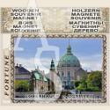 Copenhagen :: Pyrography Magnetic Souvenirs #02-3