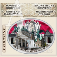 Copenhagen :: Tourist Gifts Magnets #09-3