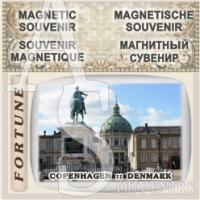 Copenhagen :: Acrylic  Magnetic Souvenirs