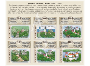 Slovenia, lake Blade  :: PVC Fridge Magnets