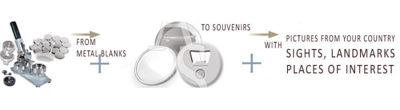 Button Oppener & Metal Souvenirs »